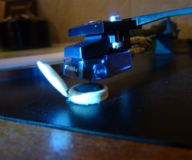 Blue Tack Your Turntable's Needle Clean