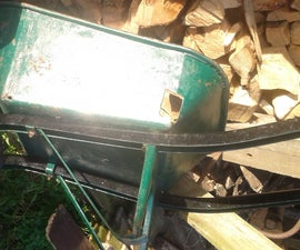 Wheel Barrow - Tray Repair