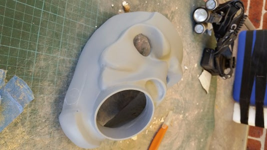 Filling and Smoothing Shell