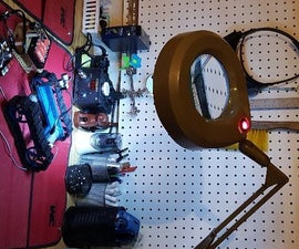 Luxo Maginfying Lamp LED Upgrade