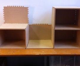 Three-Plate Shelves