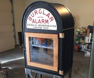 Burglar Alarm Wine Rack