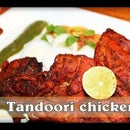 Tandoori Chicken in Microwave (Tandoori Murghi) Indian Grilled/ Roasted Chicken in Microwave