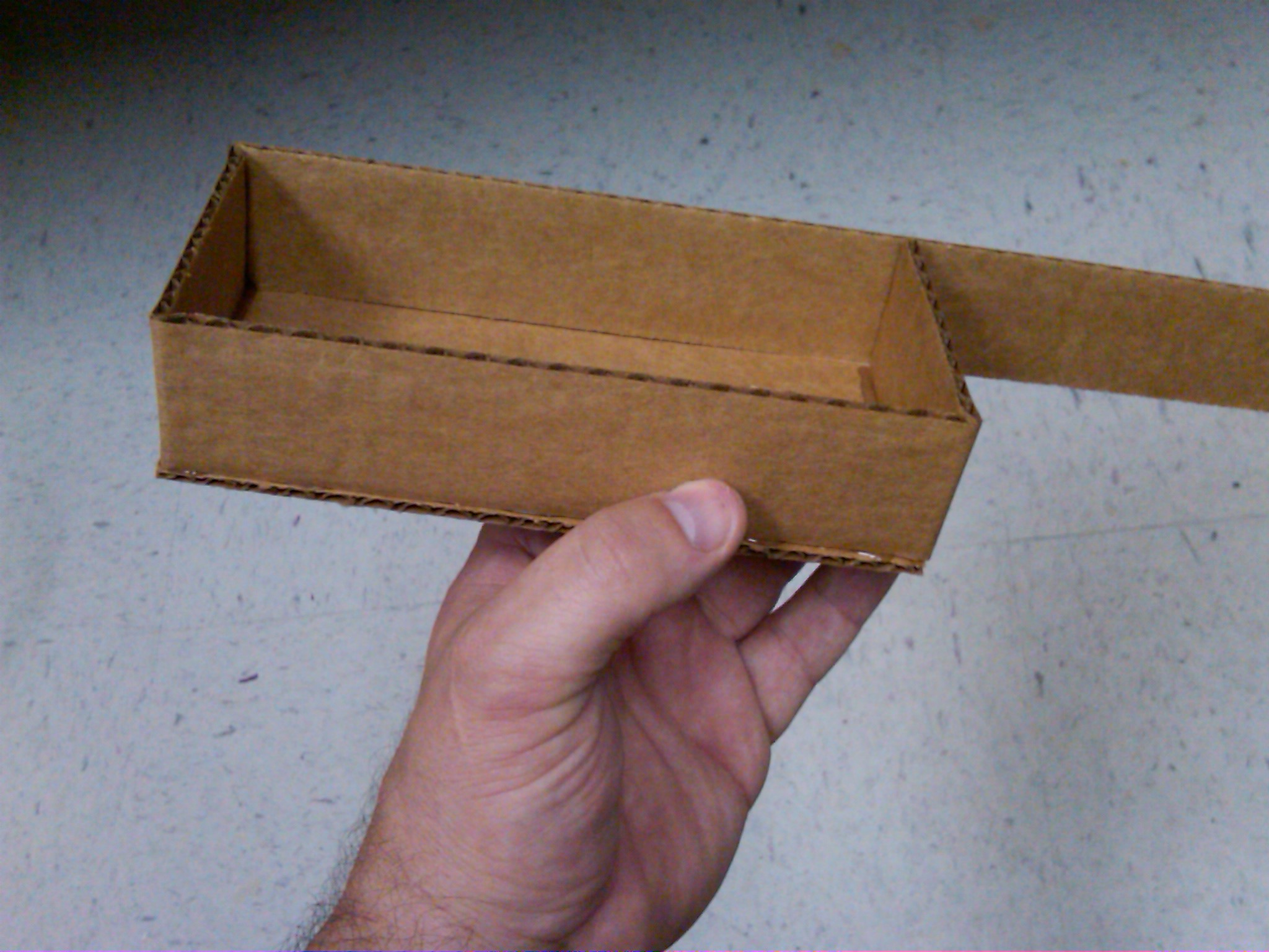 Picture of No-Measure Cardboard Display Shelves/ Boxes