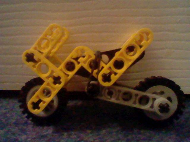 Picture of Lego Motorbikes.