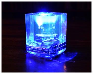 LED Resin Cube V2