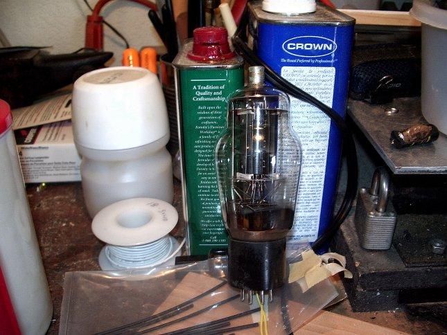 Picture of Preparing the Vacuum Tube