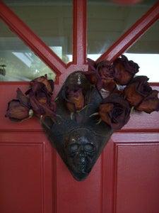 Halloween Door Hang/Wall Vase