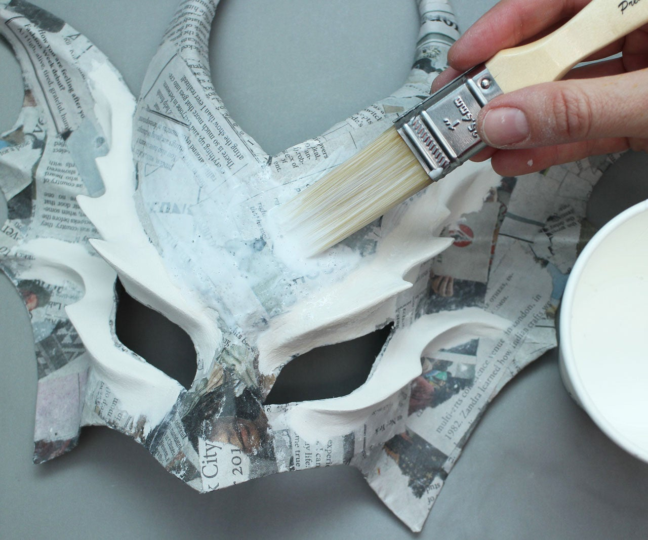 Tools and Materials for Paper Mache