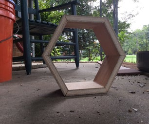 Easy Hexagon Shelf