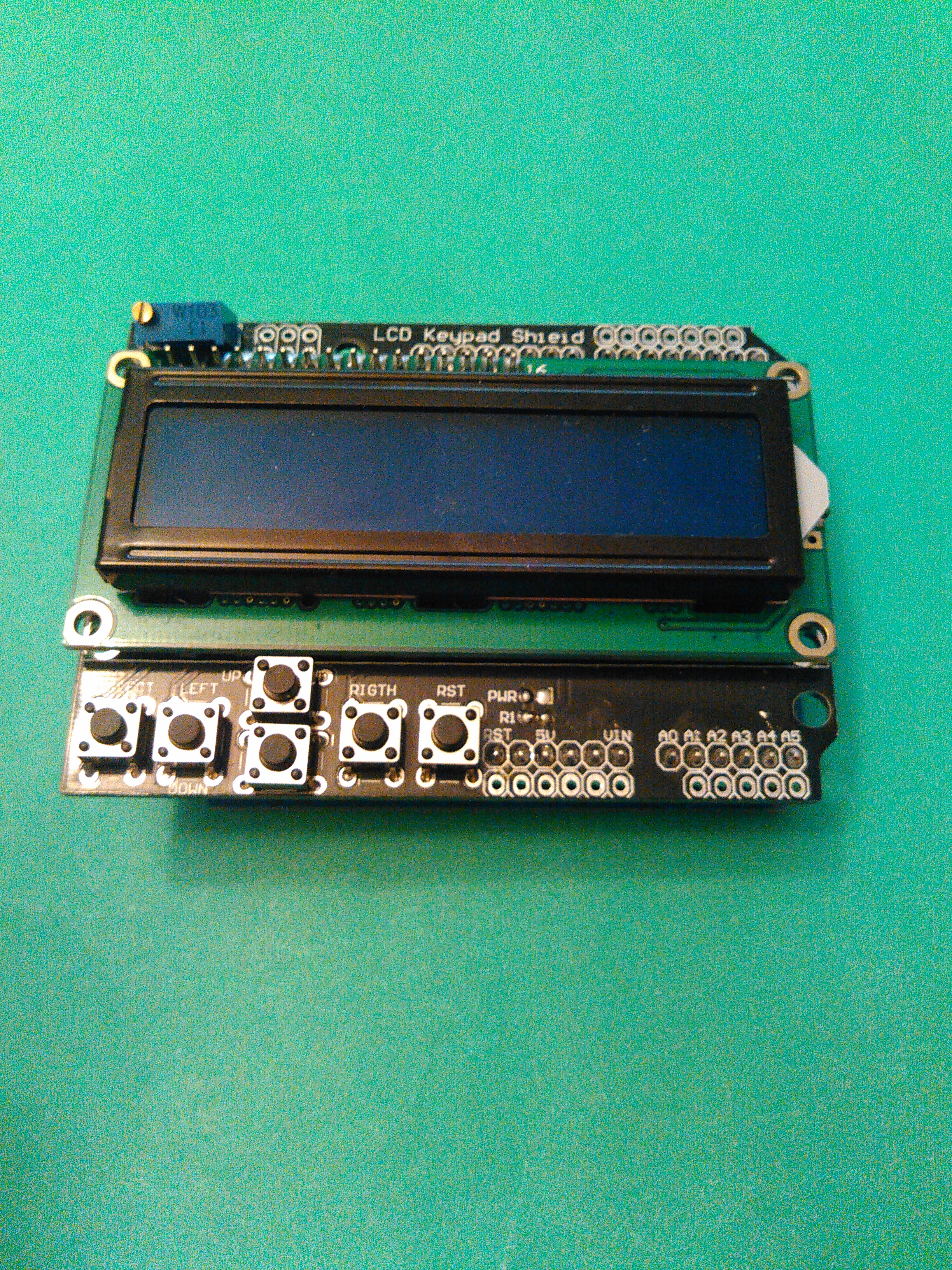 Picture of 4-in-1 Arduino LCD Shield Kit