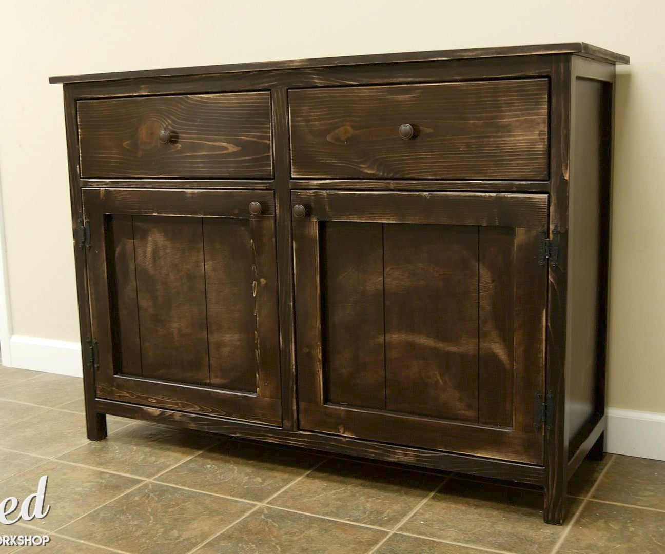 How To Build A Diy Sideboard Buffet Cabinet 15 Steps With Pictures