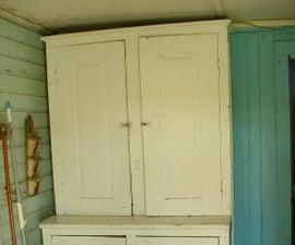 Making a Victorian Kitchen Cupboard Useful Again.