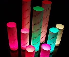 Paper Candle Shades