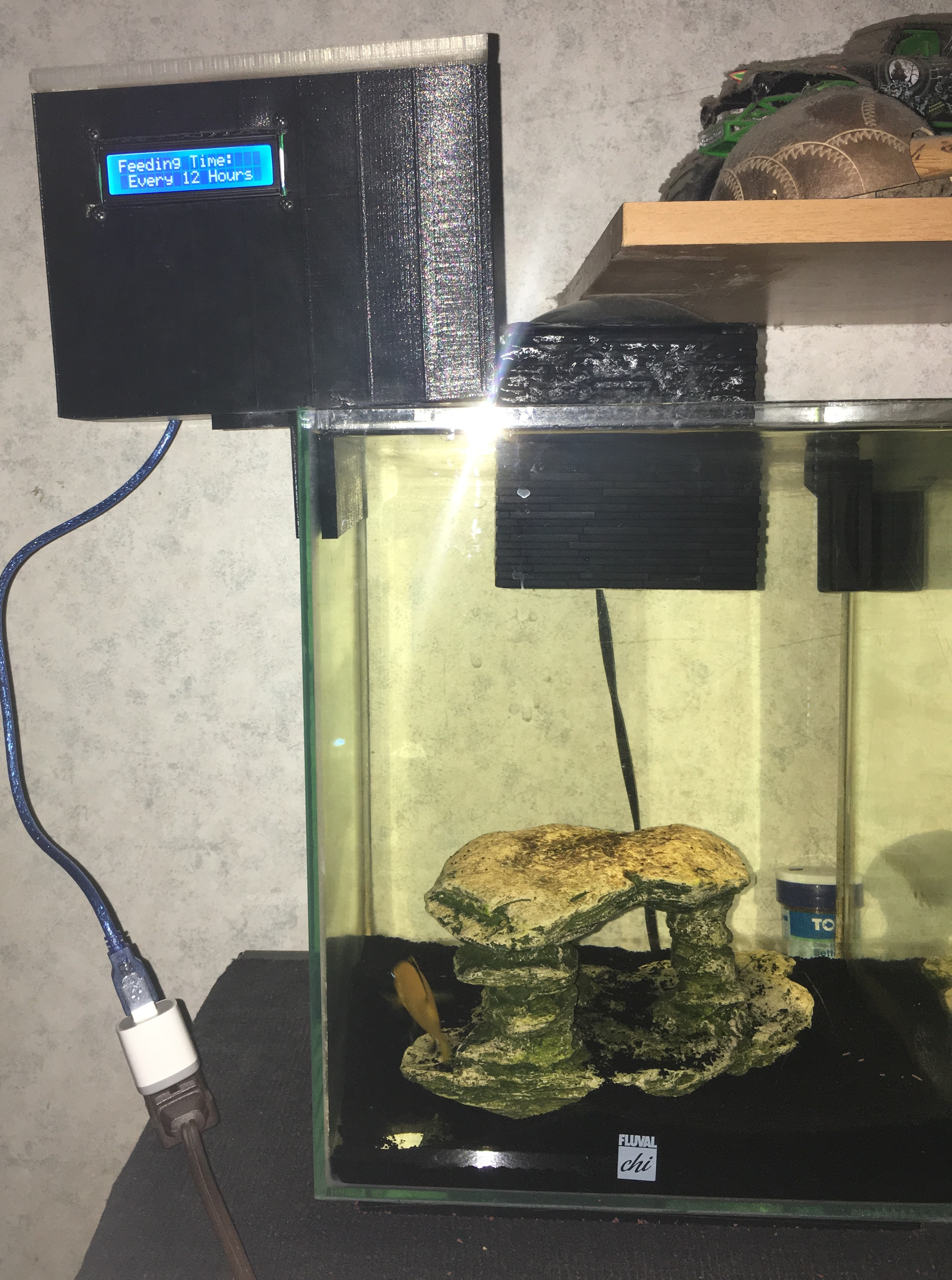 Picture of Arduino Automatic Fish Feeder