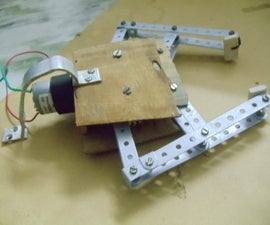 Home made robot gripper