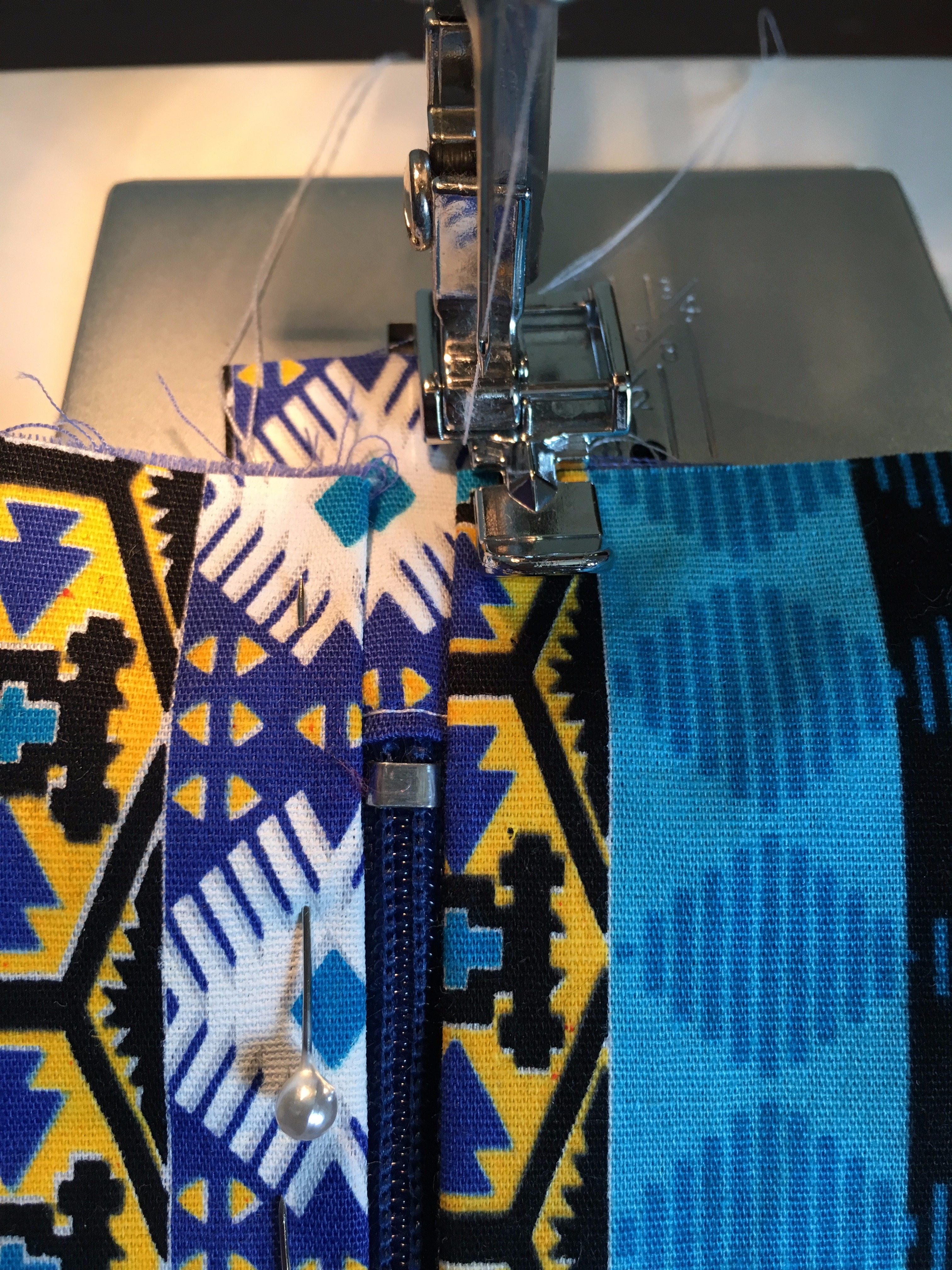Picture of Sewing the Zip