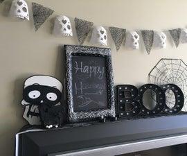 Sugar Skull Banner