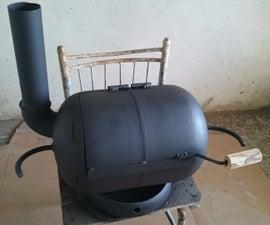 GAS TANK BBQ
