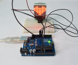 Arduino 8x8 LED Matrix