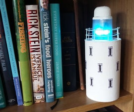 Internet of Things Lighthouse Using Arduino ESP8266 & WS2812 LED
