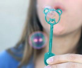 Custom Bubble Wands