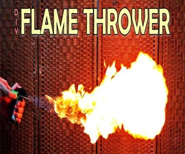Homemade Flame Thrower (Video)