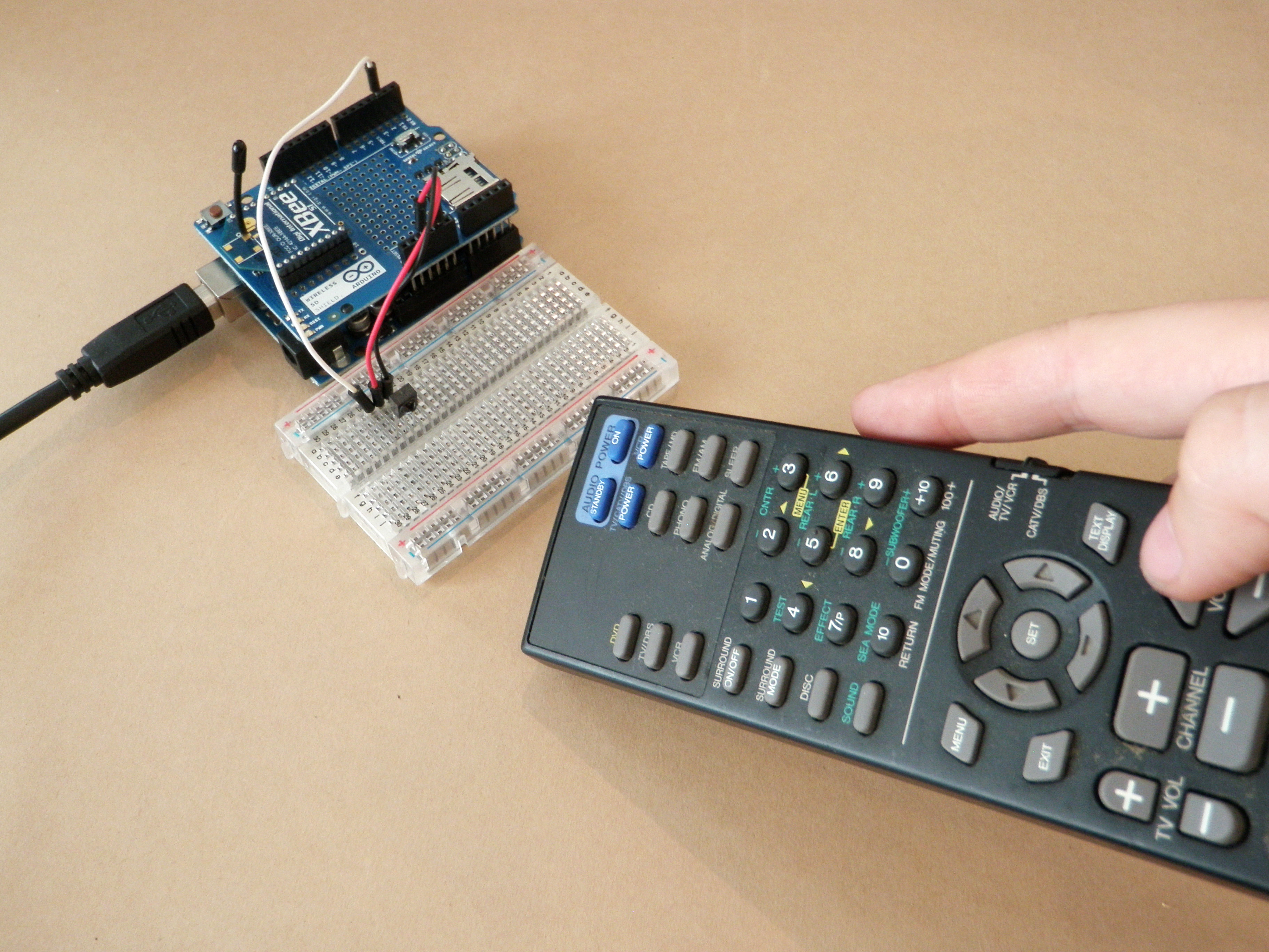 Picture of Stereo Remote Hack
