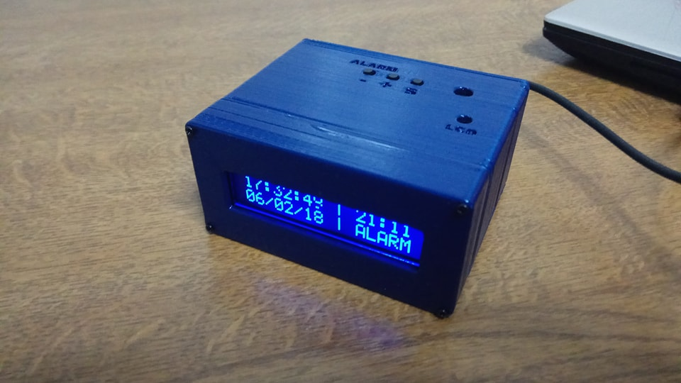 Picture of Arduino Digital Clock With Alarm Function (custom PCB)