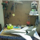 Worktable wall mount