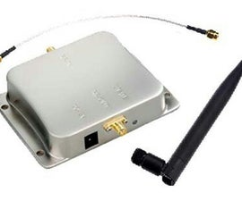 Forced air cooling of WiFi amplifier - DECOMMISSIONED.