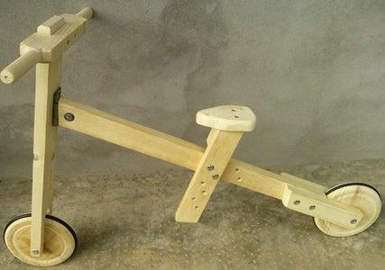Balance Bike Easy & Cheap