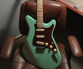 Build a Fender-Style Guitar Body