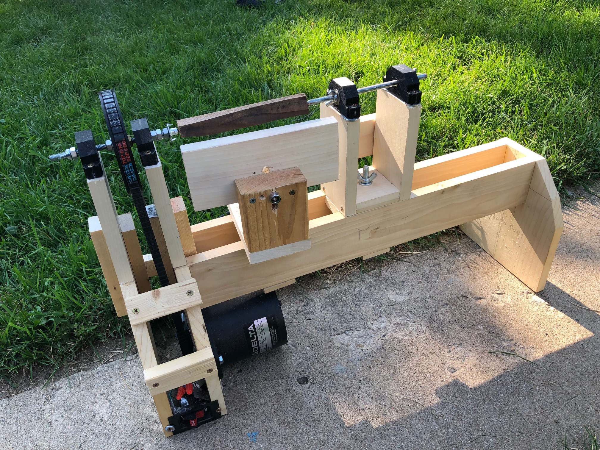 Picture of Homemade Wood Lathe