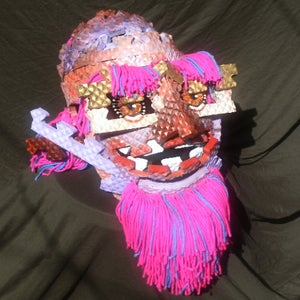 Masks From Rubber Floor Mats