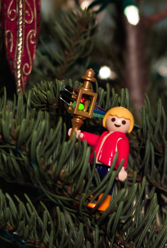 Picture of Awesomely Cute Christmas Tree Water Level Indicator