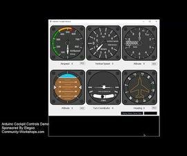 Arduino Cockpit Sensors Demo