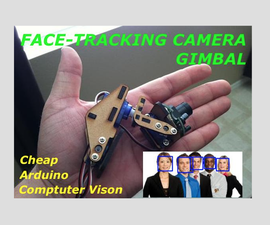 Face Tracking Pan-Tilt Camera