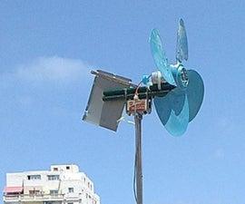 TurbineOne V2 : Super Simple Wind Turbine You Can Make Now
