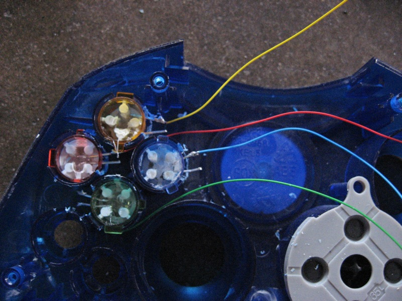 Picture of Wiring the LEDs