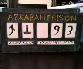 Azkaban Prison Sign