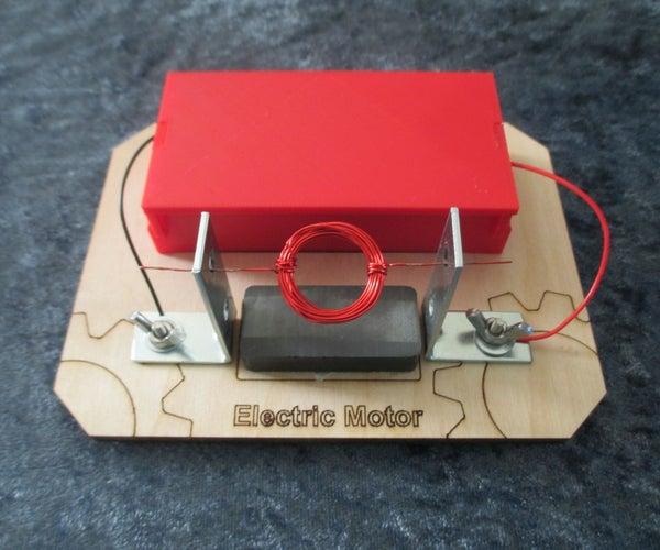 Electric Motor Demonstration