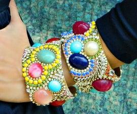 Rhinestone Boho Cuffs