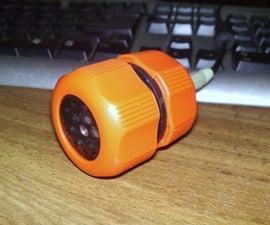 Poorman's portable speaker system