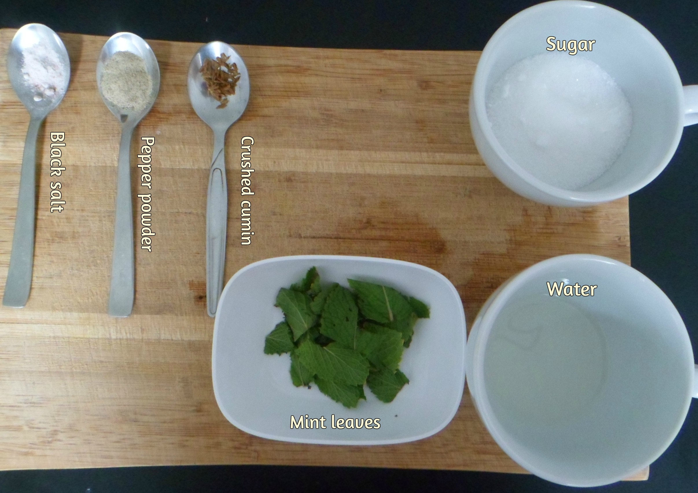 Picture of Keep All Ingredients Ready