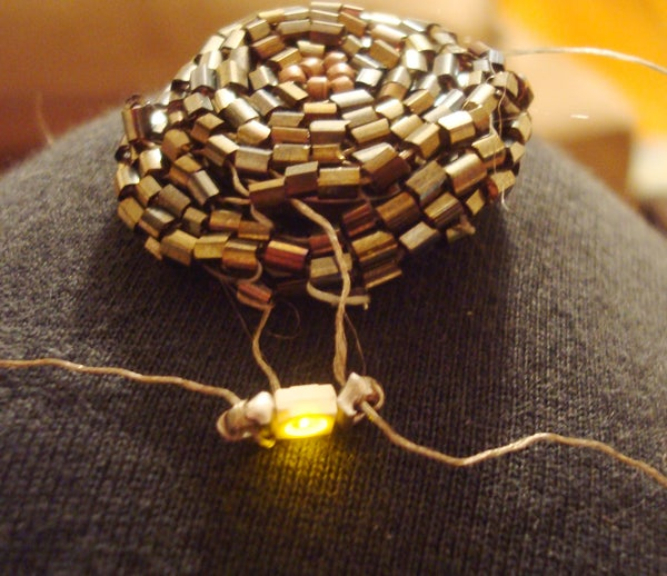 Beaded Battery Case