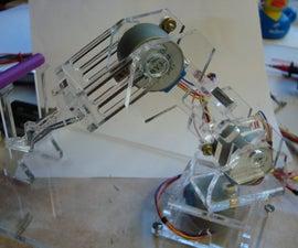 Plexi Bot: Wireless Robotic Arm