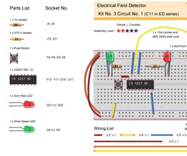Electrical Field Detector