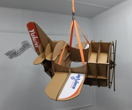 Cardboard Airplane - from 3D model to parade costume