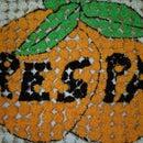 Orange Cupcake Mural